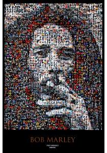 Bob Marley (Mosaic) - GB Eye Poster (61 cm X 91.5 cm)
