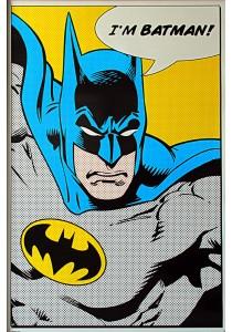 Framed Poster: Batman (I'm Batman) - Pyramid International Poster (61 cm X 91.5 cm)