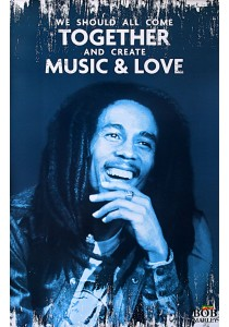 Bob Marley (Music & Love) - Pyramid International Poster (61 cm X 91.5 cm)