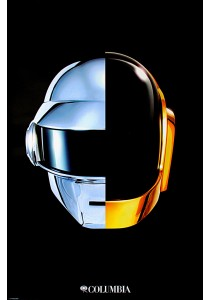 Framed Poster: Daft Punk - Pyramid International Poster (61 cm X 91.5 cm)