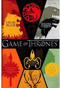 Game of Thrones (Sigils) - Pyramid International Poster (61 cm X 91.5 cm)