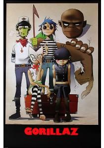 Gorillaz - Pyramid International Poster (61 cm X 91.5 cm)