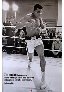 Muhammad Ali (I'm So Fast) - Pyramid International Poster (61 cm X 91.5 cm)