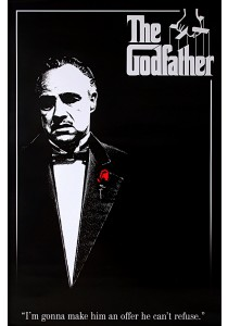 The Godfather (Red Rose) - Pyramid International Poster (61 cm X 91.5 cm)