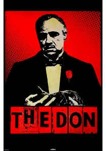 Framed Poster: The Godfather (The Don) - Pyramid International Poster (61 cm X 91.5 cm)