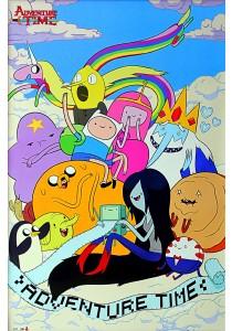 Framed Poster: Adventure Time - GB Eye Poster (61 cm X 91.5 cm)