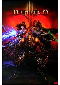 Diablo III - GB Eye Poster (61 cm X 91.5 cm)