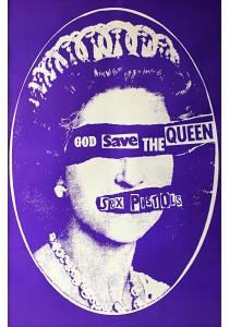 Sex Pistols (God Save the Queen) - GB Eye Poster (61 cm X 91.5 cm)