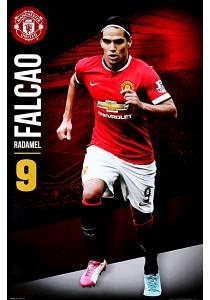 Framed Poster: Manchester United FC - Radamel Falcao (2014/15) - GB Eye Poster (61 cm X 91.5 cm)