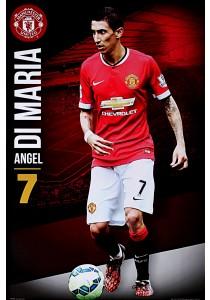 Manchester United FC - Angel Di Maria (2014 - 2015) - GB Eye Poster (61 cm X 91.5 cm)