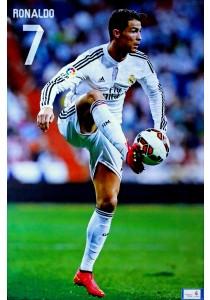 Cristiano Ronaldo of Real Madrid CF (2014-15) - Poster (61 cm X 91.5 cm)