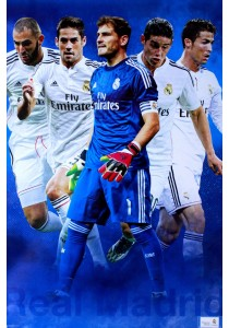 Real Madrid CF Players (2014-15) - Poster (61 cm X 91.5 cm)