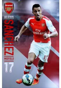 Alexis Sanchez of Arsenal FC (2014 / 15) - GB Eye Poster (61 cm X 91.5 cm)
