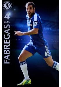 Framed Poster: Cesc Fabregas of Chelsea FC (2014-15) - GB Eye Poster (61 cm X 91.5 cm)
