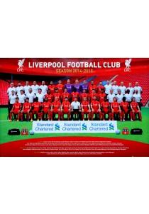 Liverpool FC Team Photo (2014-15) - GB Eye Poster (61 cm X 91.5 cm)