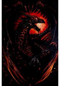 Spiral Dragon Furnace - Pyramid International Poster (61 cm X 91.5 cm)