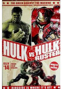 The Avengers: Age Of Ultron (Hulk Vs Hulkbuster) - Pyramid International Poster (61 cm X 91.5 cm)
