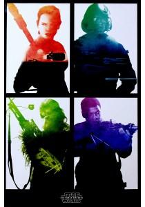 Star Wars Episode VII (Rebel Blocks) - Pyramid International Poster (61 cm X 91.5 cm)