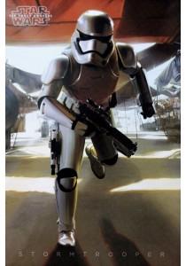 Star Wars Episode VII (Stormtrooper Running) - Pyramid International Poster (61 cm X 91.5 cm)