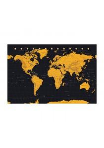World Map (Gold) - GB Eye Poster (61 cm X 91.5 cm)