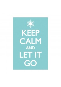 Keep Calm And Let It Go - GB Eye Poster (61 cm X 91.5 cm)