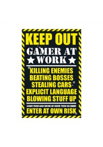 Gaming: Keep Out - GB Eye Poster (61 cm X 91.5 cm)