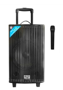 ProRock PR-10HMS All-in-one Portable Speaker 100 Watts PA System with wireless Microphone