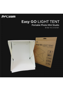 Proocam EASYGO Portable Mini Studio Photo Light Tent with LED Light Product (YTP-1)