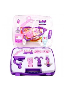 Educational Role Play Doctor / Nurse Toy with Medical Kit ( Purple)