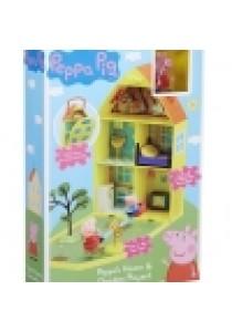 Peppa Pig Peppa's Home & Garden Playset See Saw & Figures Fold Away