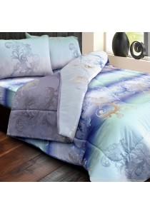 Essina 100% Cotton Areni Collection 500TC Fitted Bed sheet set Petal Grain - Queen