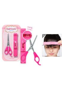 Pink Hair Cutting Guide Tools (Bangs Cut Kit)