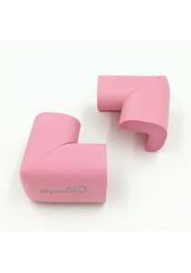 Myoshin Safety Table Corner Edge Protect Cushion (1 set 10 pieces) - 023 (Pink)
