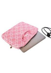 Gin & Jacqie Portable Savannah Laptop Bag Pink 15