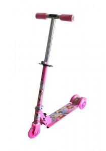 Kid's Adjustable Foldable Scooter - Princess Sofia Pink
