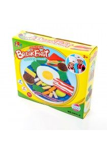 Kids Children DIY Color Play Clay Dough Toy (Breakfast)