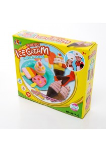 Kids Children DIY Color Play Clay Dough Toy (Ice Cream)