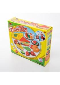 Kids Children DIY Color Play Clay Dough Toy (Sandwich)