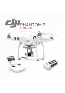 DJI Phantom 3 Standard Drone For Beginner 2.7HD Video & 12 Megapixel