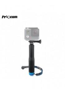 Proocam PRO-F208 36inch Aluminium Monopod goeasy pole with Mount Adapter for GoPro SJCAM (Black)