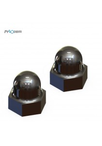 Proocam PRO-F203 Replacement Acorn Nut for Gopro Screw (2pcs pack)