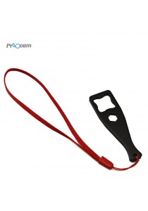Proocam PRO-J122A-BK Aluminium Metal Key Thumb Screw Wrench for GoPro Equipment (Black)