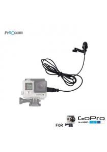 Proocam Pro-F102 Mini USB Microphone Professional Design for Gopro Hero 3/3+/4