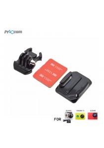 Proocam Pro-J013 Gopro Helmet Curved Surface & Mount for Gopro Hero 4,3,2,1 Action Camera