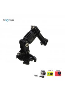 Proocam Pro-J015B Three-way Adjustable Pivot Arm with Quick Clip