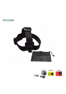 Proocam Pro-J023 Elastic Adjustable Head Strap with Anti-Slide Glue with Storage Bag