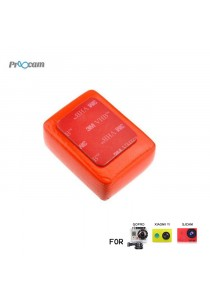 Proocam Pro-J046 Floaty Sponge with 3M Sticker for Gopro Hero 4, 3, 2, 1 Action camera