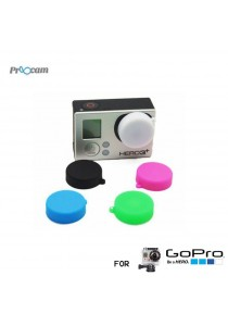 Proocam Pro-J129-BK Silicon Cap for the Housing for Gopro Hero Action Camera (Black)