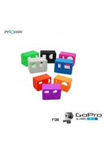 Proocam Pro-J131-BL Silicone Case for the Camera Mainbody of Gopro Hero 4, 3 (Blue)