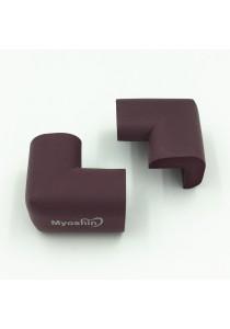 Myoshin Safety Table Corner Edge Protect Cushion (1 set 10 pieces) - 023 (Purple)